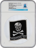 "Explorers:Space Exploration, U.S. Navy VFA-103 Strike Fighter Squadron ""Fighting 103"" Patch Personally-Owned by Neil Armstrong From The Armstrong Family Co..."