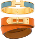 Luxury Accessories:Accessories, Hermès Set of Two Bracelets. Condition: 2. See Extended Condition Report for Sizes.... ... (Total: 2 )