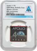 Explorers:Space Exploration, Apollo 11: NASA Official Edition 40th Anniversary Pin From The Armstrong Family Collection™, CAG Certified....