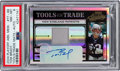 Football Cards:Singles (1970-Now), 2004 Playoff Absolute Memorabilia Tom Brady Tools of the Trade Relic Autograph #TT-88 Numbered 7 out of 25 PSA NM-MT 8....