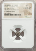 Ancients:Oriental, Ancients: PERSIS KINGDOM. Kapat (1st century AD). AR obol (9mm, 0.55 gm, 10h). NGC MS 5/5 - 4/5....