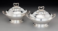 Silver & Vertu:Hollowware, A Pair of Tiffany & Co. Covered Entrée Dishes, New York, circa 1865-1869. Marks: TIFFANY & CO., 1909, MAKERS, 336, STERLIN... (Total: 2 )
