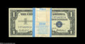 Small Size:Silver Certificates, Fr. 1619 $1 1957 Silver Certificates. Original Pack of 100. Gem Crisp Uncirculated.... (100 notes)