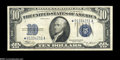Small Size:Silver Certificates, Fr. 1703* $10 1934B Silver Certificate. Very Fine-Extremely Fine....