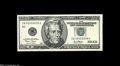 Small Size:Federal Reserve Notes, Fr. 2087-B $20 2001 Federal Reserve Note. Gem Crisp Uncirculated....