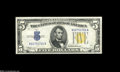Small Size:World War II Emergency Notes, Fr. 2307 $5 1934A North Africa Silver Certificates. About Uncirculated, Extremely Fine.... (2 notes)