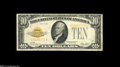 Small Size:Gold Certificates, Two Gold Certificate Denominations.... (2 notes)