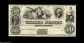 Two Year Interest Bearing Note Specimen $50 1847 This example is the plate note in Hessler's book U.S. Loans, where it i...