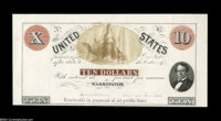 $10 United States Interest Bearing Essay Although undated, this is without question an 1850's product, most likely an es...