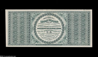 Fr. 165 $100 1862 Legal Tender Back Proof. This proof impression of the back of the $100 1862 Legal Tender design is pri...