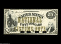 Large Size:Demand Notes, Type of Fr. 192 $50 National Customs Note Hessler 211/1499k ChoiceNew....