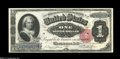 Large Size:Demand Notes, Fr. 223 $1 1891 Silver Certificate Courtesy Autograph Superb GemNew....