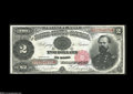 Large Size:Demand Notes, Fr. 357 $2 Treasury Note Courtesy Autograph Gem New....