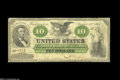 Large Size:Demand Notes, Fr. 7 $10 1861 Demand Note Fine....