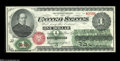Fr. 16 $1 1862 Legal Tender Gem New. This lovely Gem has nearly perfect margins and excellent centering of both sides. A...