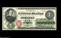 Fr. 16 $1 1862 Legal Tender Gem New. Broad, even margins, absolutely ideal color and original paper surfaces that includ...