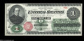 Fr. 16 $1 1862 Legal Tender Very Choice New. A Superb Gem in every sense save for the top face margin, which although cl...