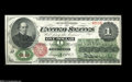 Fr. 16 $1 1862 Legal Tender Choice New. Beautiful colors and margins that are superior to virtually all examples of this...