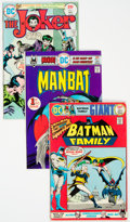 Bronze Age (1970-1979):Superhero, Batman-Related Complete Runs Group of 31 (DC, 1975-78) Condition:Average VF.... (Total: 31 )