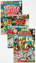 Bronze Age (1970-1979):Superhero, All Star Comics/All Star Squadron Group of 44 (DC, 1976-84)Condition: Average VF-.... (Total: 44 )