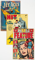 Golden Age (1938-1955):Miscellaneous, Golden Age Comics Group of 5 (Various Publishers, 1940s) Condition: VG/FN.... (Total: 5 Comic Books)