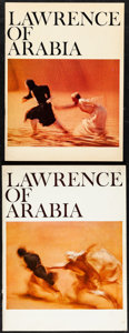 """Movie Posters:Academy Award Winners, Lawrence of Arabia & Other Lot (Columbia, 1962). Very Fine.Programs (2) (Multiple Pages, 9"""" X 12"""", 9.5"""" X 12.5"""") & Theater... (Total: 3 Items)"""