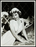 "Movie Posters:Miscellaneous, Claudette Colbert by Eugene Robert Richee (1940s). Very Fine-. Portrait Photo (10"" X 13.25""). Miscellaneous.. ..."