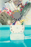 Fine Art - Work on Paper:Print, James Rosenquist (1933-2017). The Memory Continues but the ClockDisappears, 2011. Lithograph in colors with etched hand...