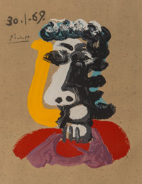 After Pablo Picasso Imaginary Portraits (from the American Edition), 1972 29 Offset lithographs in