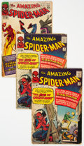 Silver Age (1956-1969):Superhero, The Amazing Spider-Man Group of 7 (Marvel, 1964-70) Condit...