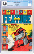 Golden Age (1938-1955):Superhero, Feature Comics #68 Mile High Pedigree (Quality, 1943) CGC VF/NM 9.0 White pages....