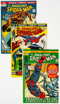 Bronze Age (1970-1979):Superhero, The Amazing Spider-Man Group of 16 (Marvel, 1972-2004) Condition:Average FN/VF.... (Total: 16 Comic Books)