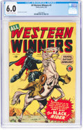 Golden Age (1938-1955):Western, All Western Winners #3 (Marvel, 1949) CGC FN 6.0 Off-white to white pages....