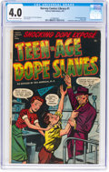 Golden Age (1938-1955):Crime, Harvey Comics Library #1 (Harvey, 1952) CGC VG 4.0 Cream to off-white pages....