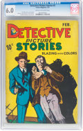 Platinum Age (1897-1937):Miscellaneous, Detective Picture Stories #3 (Comics Magazine, 1937) CGC FN 6.0Cream to off-white pages....
