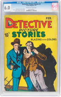 Detective Picture Stories #3 (Comics Magazine, 1937) CGC FN 6.0 Cream to off-white pages