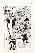 Original Comic Art:Panel Pages, Kevin Nowlan The Outsiders Annual #1 Story Page 25 OriginalArt (DC, 1986)....