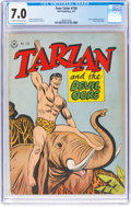 Golden Age (1938-1955):Adventure, Four Color #134 Tarzan (Dell, 1947) CGC FN/VF 7.0 Cream to off-white pages....