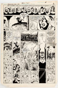 Original Comic Art:Panel Pages, George Pérez and Romeo Tanghal The New Teen Titans #40 StoryPage 2 Original Art (DC, 1984)....