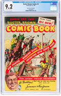 Golden Age (1938-1955):Miscellaneous, Buster Brown Comics #3 Mile High Pedigree (Brown Shoe Co., 1946) CGC NM- 9.2 Off-white to white pages....