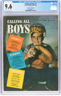 Golden Age (1938-1955):Miscellaneous, Calling All Boys #7 Mile High Pedigree (Parents' Magazine Institute, 1946) CGC NM+ 9.6 Off-white to white pages....
