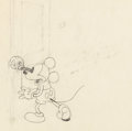 Animation Art:Production Drawing, The Mad Doctor Mickey Mouse Animation Drawing (Walt Disney,1933)....