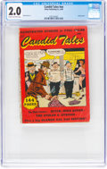 Golden Age (1938-1955):Miscellaneous, Candid Tales nn (Kirby Publishing, 1950) CGC GD 2.0 Cream to off-white pages....