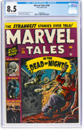 Golden Age (1938-1955):Horror, Marvel Tales #106 (Atlas, 1952) CGC VF+ 8.5 Off-white to white pages....