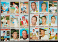 Baseball Cards:Other, 1970 Topps Baseball 9-Card Uncut Panel Lot of 2.... (Total: 2items)