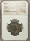Ancients: JUDAEA. Caesarea Maritima. Domitian (AD 81-96). AE (26mm, 16.27 gm, 12h). NGC Good 4/5 - 3/5