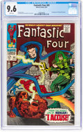 Silver Age (1956-1969):Superhero, Fantastic Four #65 (Marvel, 1967) CGC NM+ 9.6 White pages....