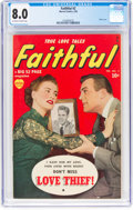 Golden Age (1938-1955):Romance, Faithful #2 (Marvel, 1950) CGC VF 8.0 Off-white to white pages....