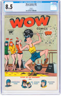 Golden Age (1938-1955):Humor, Wow Comics #60 Big Apple Pedigree (Fawcett Publications, 1947) CGC VF+ 8.5 Cream to off-white pages....