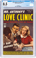 Golden Age (1938-1955):Romance, Mr. Anthony's Love Clinic #1 (Hillman Publications, 1949) CGC VF+8.5 Off-white to white pages....